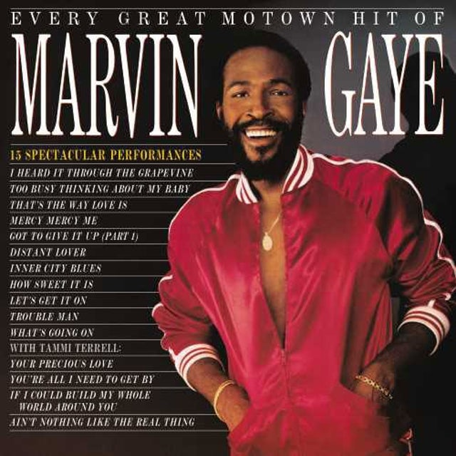 EVERY GREAT MOTOWN HIT OF MARVIN GAYE: 15 SPECTACU Vinyl Record