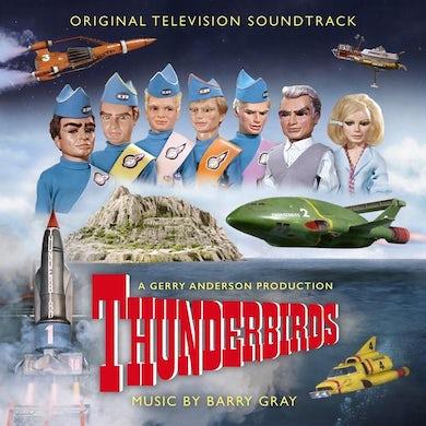 THUNDERBIRDS Original Soundtrack (2LP/SKY BLUE VINYL) Vinyl Record