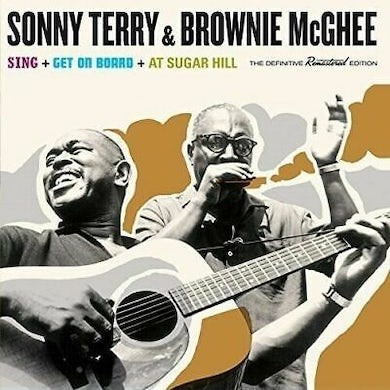 Sonny Terry / Brownie McGhee  AT SUGAR HILL Vinyl Record - Spain Release