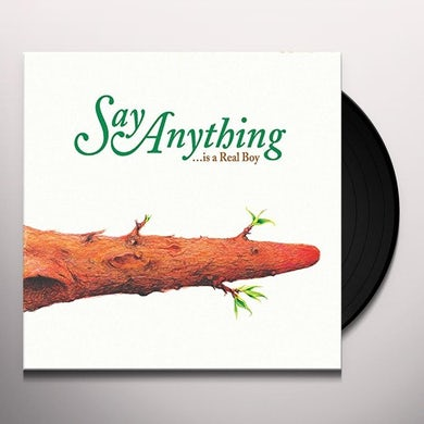 Say Anything IS A REAL BOY Vinyl Record