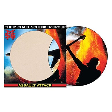 The Michael Schenker Group ASSAULT ATTACK (PICTURE DISC) Vinyl Record