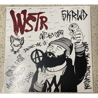 WSTR SKRWD (RED & BONE SPLIT VINYL) Vinyl Record