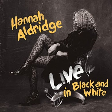 Hannah Aldridge LIVE IN BLACK & WHITE Vinyl Record