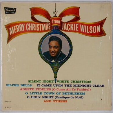 MERRY CHRISTMAS FROM JACKIE WILSON Vinyl Record
