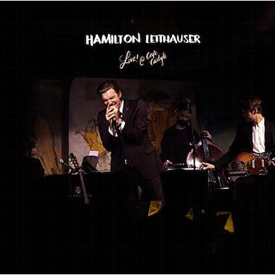 Hamilton Leithauser LIVE! AT CAFE CARLYLE (OPAQUE WHITE VINYL) Vinyl Record