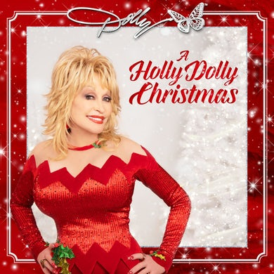 Dolly Parton HOLLY DOLLY CHRISTMAS Vinyl Record