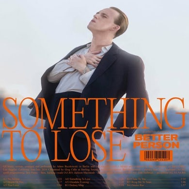 BETTER PERSON SOMETHING TO LOSE Vinyl Record