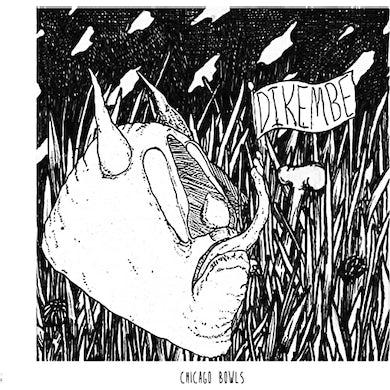 Dikembe CHICAGO BOWLS/LEDGE (GREEN/BLACK SWIRL VINYL) Vinyl Record