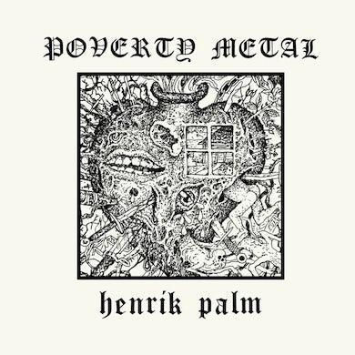 POVERTY METAL (RED VINYL) Vinyl Record