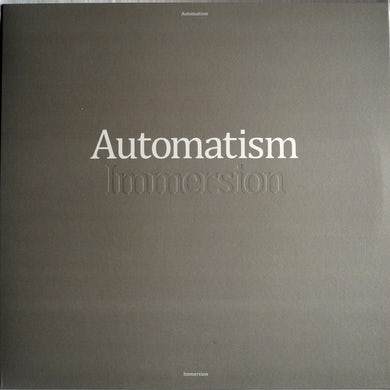 Automatism IMMERSION (COLORED VINYL) Vinyl Record