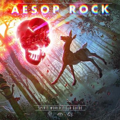 Aesop Rock SPIRIT WORLD FIELD GUIDE (ULTRA CLEAR VINYL) Vinyl Record
