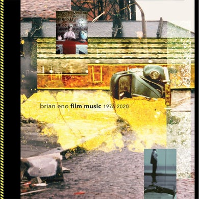 Brian Eno FILM MUSIC 1976-2020 Vinyl Record