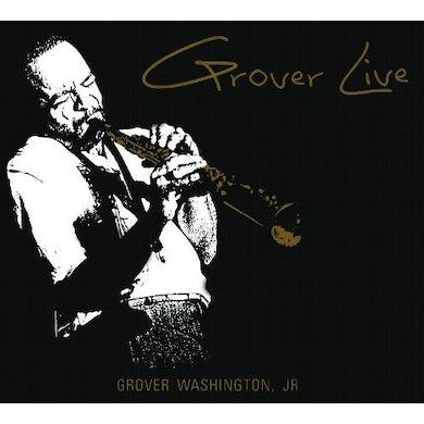 Grover Washington Jr GROVER LIVE Vinyl Record