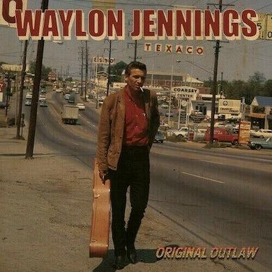 Waylon Jennings / Buddy Holly ORIGINAL OUTLAW (RED WHITE & BLUE VINYL) Vinyl Record