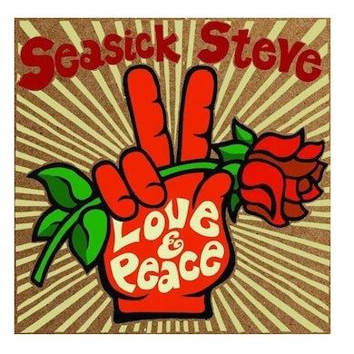 Seasick Steve LOVE & PEACE CD