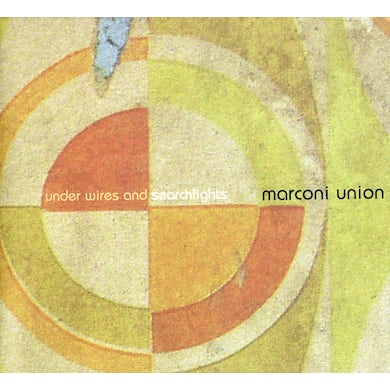 Marconi Union UNDER WIRES AND SEARCHLIGHTS CD