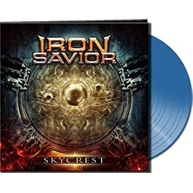 Iron Savior SKYCREST (CLEAR BLUE VINYL) Vinyl Record