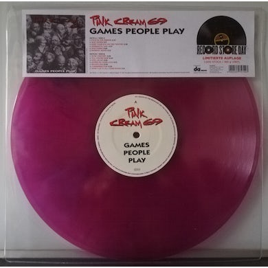 Pink Cream 69 GAMES PEOPLE PLAY (PINK VINYL) Vinyl Record