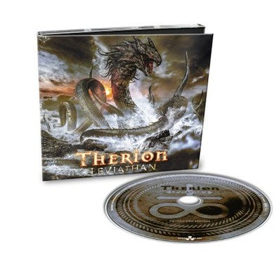 Therion LEVIATHAN (SILVER VINYL) Vinyl Record