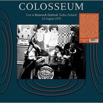 Colosseum LIVE AT RUISROCK FESTIVAL FINALAND 8/22/70 Vinyl Record