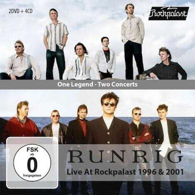 Runrig ONE LEGEND: TWO CONCERTS (LIVE AT ROCKPALAST 1996) CD