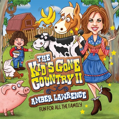 Amber Lawrence KID'S GONE COUNTRY 2 FUN FOR ALL THE FAMILY CD