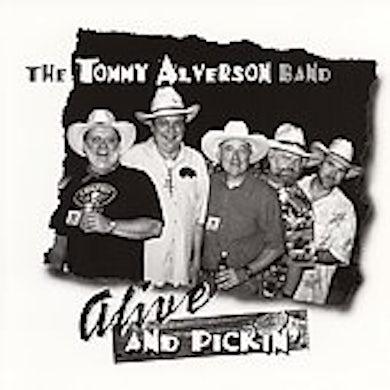 Tommy Alverson ALIVE & PICKIN' CD