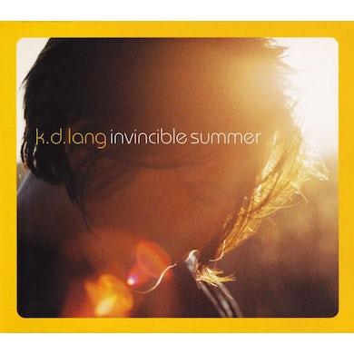 K.D. Lang INVICIBLE SUMMER 20TH ANNIVERSARY EDITION Vinyl Record