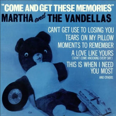 Martha & The Vandellas COME & GET THESE MEMORIES Vinyl Record