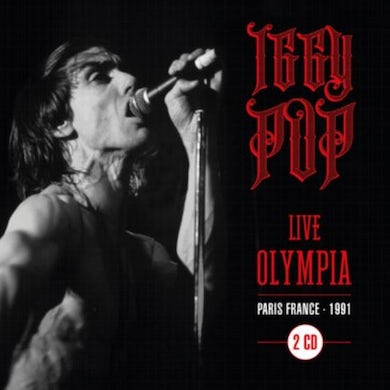 Iggy Pop LIVE AT OLYMPIA - PARIS 91' CD