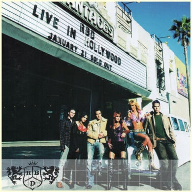 LIVE IN HOLLYWOOD CD