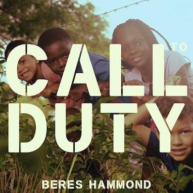 Beres Hammond CALL TO DUTY Vinyl Record