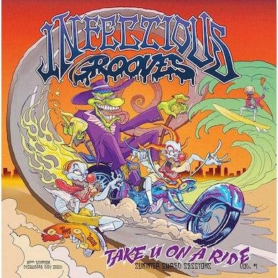 Infectious Grooves TAKE YOU ON A RIDE (EP) Vinyl Record