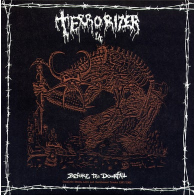 Terrorizer BEFORE THE DOWNFALL 87/89 Vinyl Record