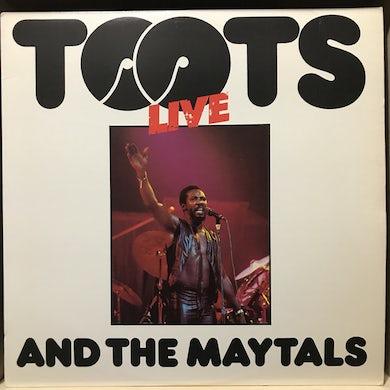 Toots & Maytals LIVE Vinyl Record