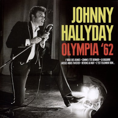 Johnny Hallyday OLYMPIA 62 Vinyl Record