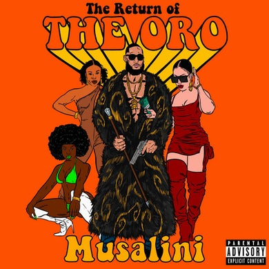 MUSALINI RETURN OF THE ORO CD