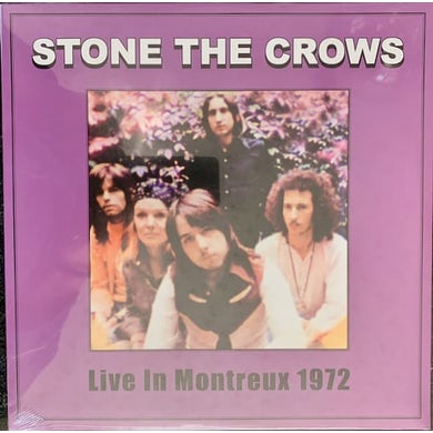 Stone The Crows LIVE AT MONTREUX 1972 Vinyl Record
