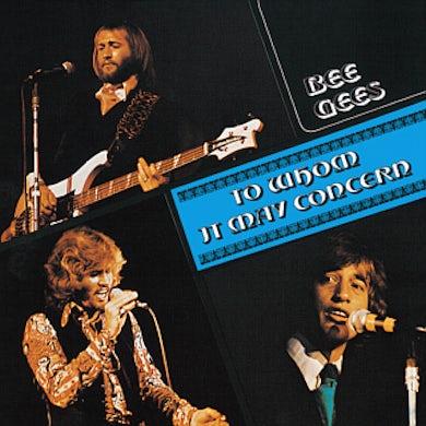 Bee Gees TRAFALGAR / TO WHOM IT MAY CONCERN CD