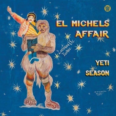 El Michels Affair YETI SEASON (CLEAR BLUE VINYL) Vinyl Record