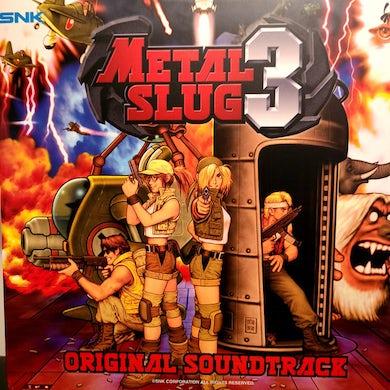 Snk Sound Team METAL SLUG 3 / Original Soundtrack (SPLATTER VINYL) Vinyl Record