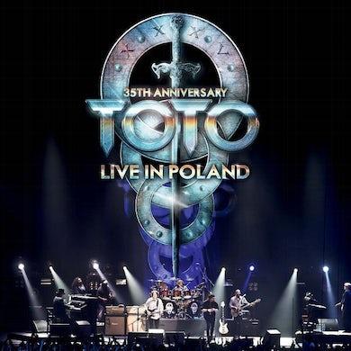 Toto 35TH ANNIVERSARY TOUR - LIVE IN POLAND Vinyl Record
