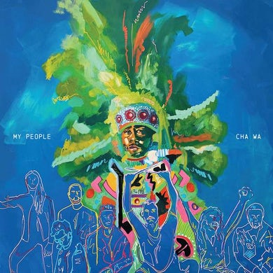 MY PEOPLE (MARDI GRAS SPLATTER VINYL) Vinyl Record