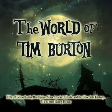 World Of Tim Burton / O.S.T. WORLD OF TIM BURTON / Original Soundtrack (GREEN VINYL) Vinyl Record