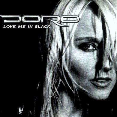 Doro LOVE ME IN BLACK (WHITE VINYL ) Vinyl Record
