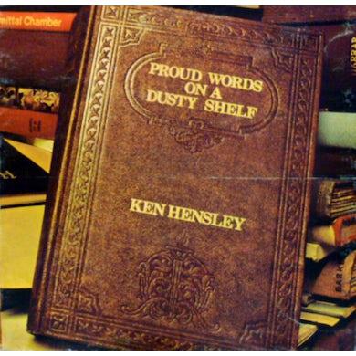 Ken Hensley PROUD WORDS ON A DUSTY SHELF Vinyl Record