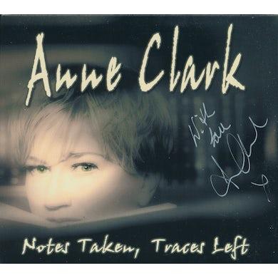 Anne Clark NOTES TAKEN TRACES LEFT CD