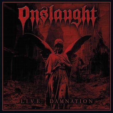 Onslaught LIVE DAMNATION Vinyl Record