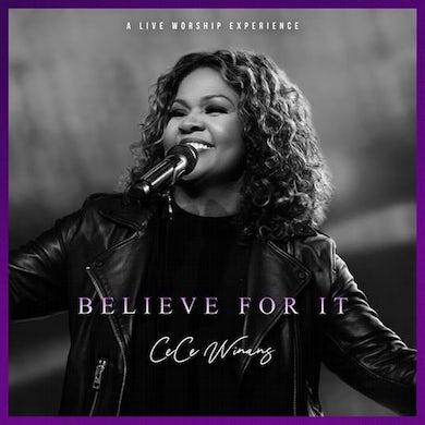 CeCe Winans BELIEVE FOR IT LIVE CD