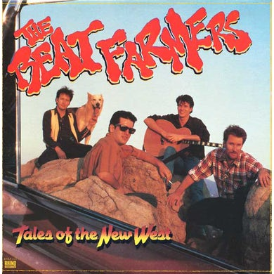Beat Farmers TALES OF THE NEW WEST Vinyl Record